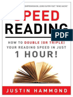 Speed Reading_ How to Double (or Triple) Your Reading Speed in Just 1 Hour! - Justin Hammond