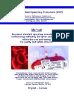 EU Q Blood SOP Manual Ed 1 0