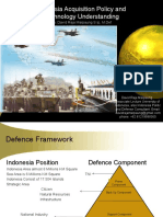 Indonesia Acquisition Policy and  Technology Understanding