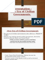 New Era of Civilian's Government (1)