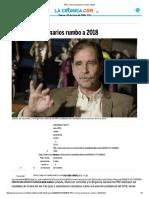 PRD Revisa Escenarios Rumbo a 2018