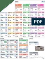 Euro 2016 - le calendrier en PDF