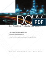 Gas Treating Products and Services