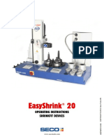 EasyShrink® 20 OPERATING INSTRUCTIONS SHRINKFIT