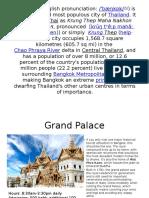 Bangkok (English Pronunciation)