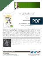 Intrepide Marie Chaussette-communique