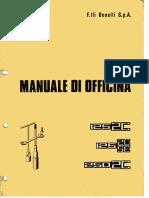 Manuale Officina Benelli 125 250 2C