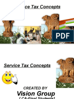 Service Tax Concepts
