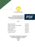 Laporan Hasil Observasi Pusat Arsip Kementerian Kesehatan