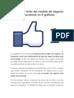 El Increíble Éxito Del Modelo de Negocio de Facebook en 5 Gráficas