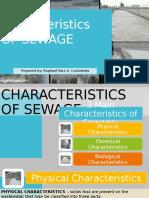 characteristics OF SEWAGE.pptx