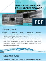 APPLICATION OF HYDROLOGIC PRINCIPLES IN STORM SEWAGE 1.pptx