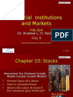 Financial Institutions and Markets-Day 8 W09