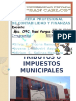 Tributos ó Impuestos Municipales