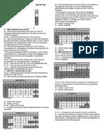 Calendar i o Academic o