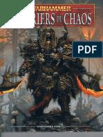 Livre d'armée VF Guerriers Du Chaos V8