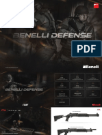 Benelli Defense 2016 Catalog