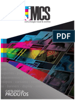 Catálogo JMCS - Comunicação Visual
