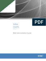 Isilon OneFS 7.1 _GUI