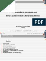 Modulo de Planificación Urbana y Arquitectura de Interiores