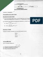 Contrôle Continu 2003 200d