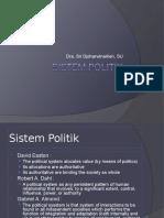 2. Sistem Politik