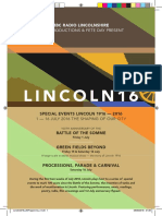BBC Lincoln 16 Official Programme