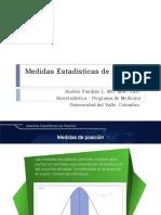 Medidas de Posicion BioStat MD
