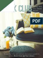 Penguin Random House Book Club Brochure Vol. 12