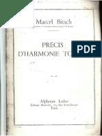 Précis Harmonie