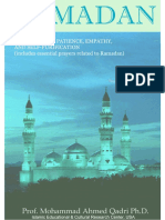 Ramadan Booklet Single Pages