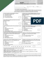 Teste de Identificação de Problemas Relacionados Ao Uso de Álcool