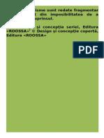 Enciclopedia Intelepciunii - Proverbe Cugetari