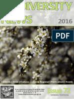 Biodiversity News #72 - Spring