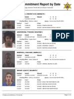 Peoria County Jail booking sheet 6/10/2016