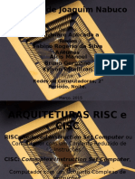 Arquitetura Risc e Cisc