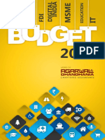 Budget 2015 16 Analysis by CA Agarwal and Dhandhania