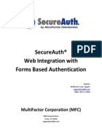 SecureAuth .NET Forms Guide