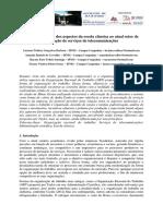 Contextualização dos aspectos da escola clássica ao atual setor de prestação de serviços de telecomunicações