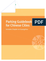 Parking Guidebook for Chinese Cities