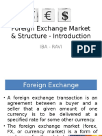 01. Foreign Exchange Market & Structure - Introduction