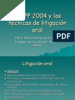 MPR - Técnicas Litigación Oral 2004