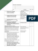 Cbt Delivery Observation Checklist