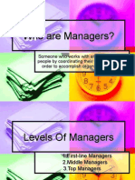 Who Are Managers