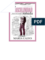 La Masculinidad Robada (Socieda - Maria Calvo Charro