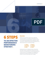 6 Steps to an effective performance monitoring strategy
