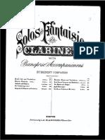 Sur Ta Rive (clarinet+piano) - H. Klose