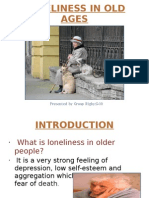 Loneliness in Adults