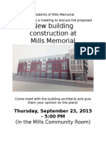 flier for archiects meeting 9 23 15