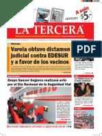 Diario La Tercera 10.06.2016